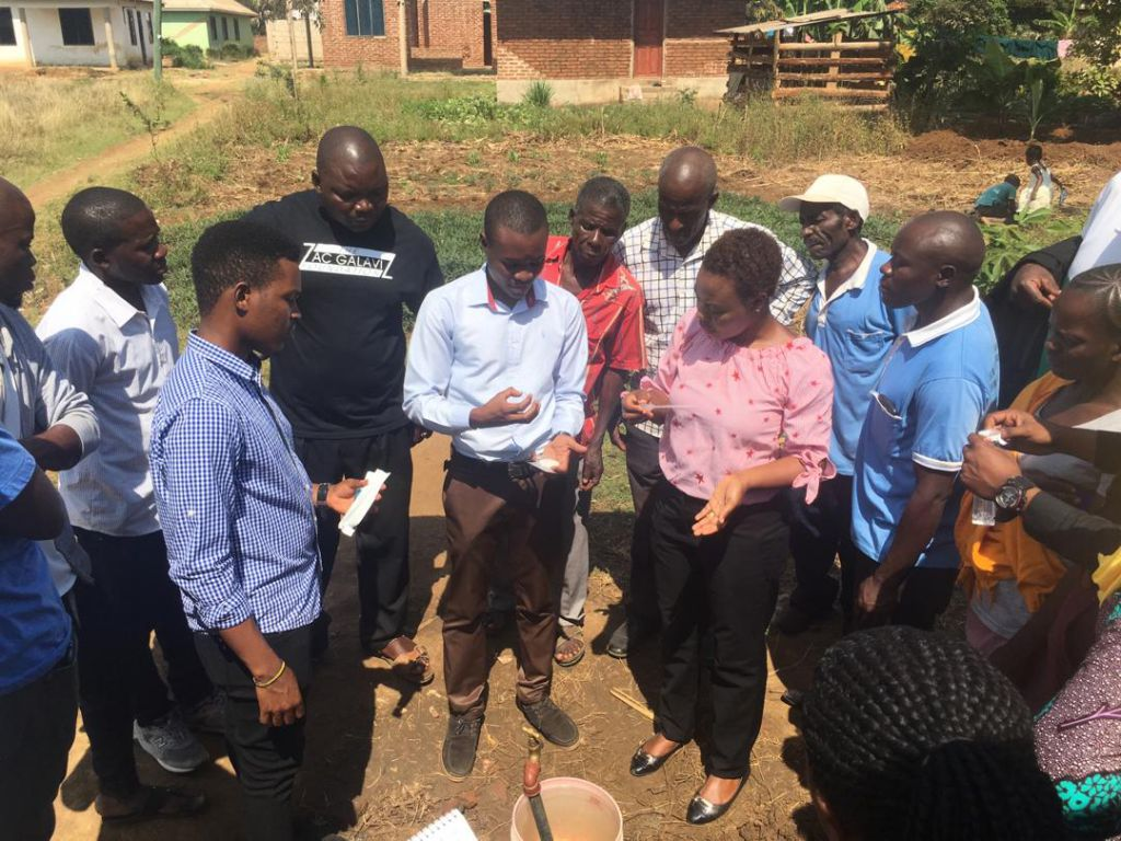 Training on how to Conduct  Water Quality Testing.